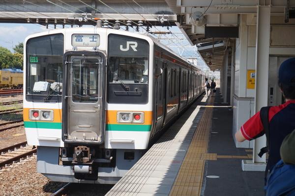 2016-08-04 東海道線211系シスGG6編成 富士行き