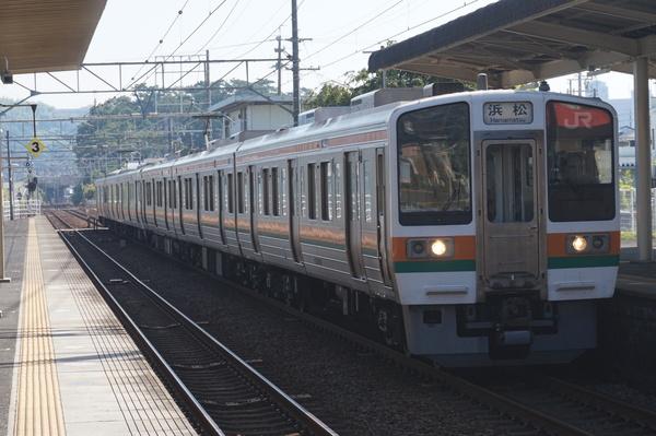2016-08-04 東海道線211系シスLL1編成 浜松行き