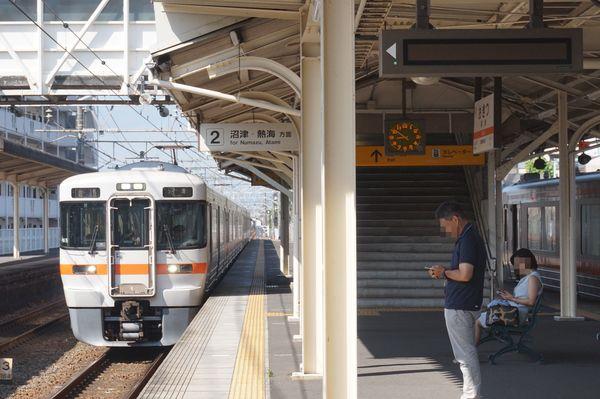 2016-08-04 東海道線313系シスN5編成 普通沼津行き