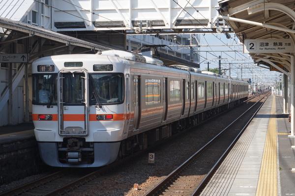 2016-08-04 東海道線313系シスT13編成 普通浜松行き