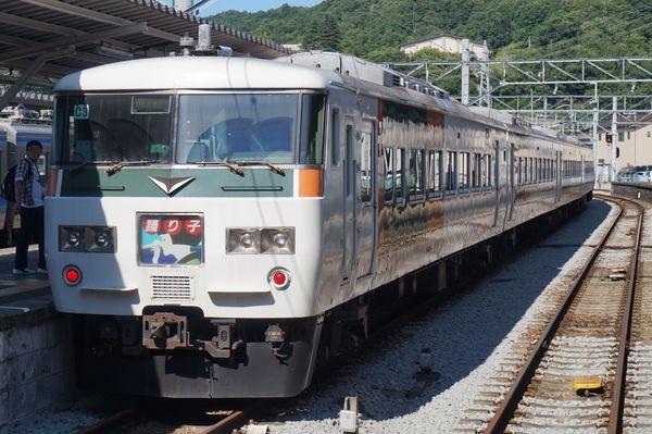 2016-08-04 踊り子号185系 東京行き