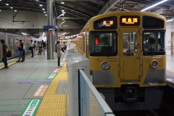 2016-08-10 西武2097F 各停豊島園行き1