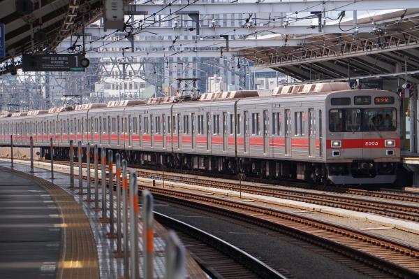 2016-08-10 東急2003F 押上行き