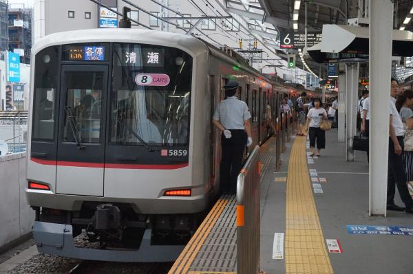 2016-08-10 東急5159F 各停清瀬行き