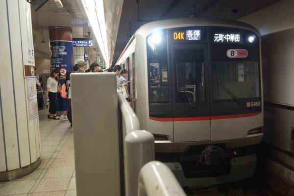 2016-08-10 東急5168F 各停元町・中華街行き