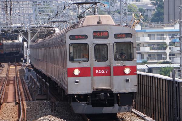 2016-08-10 東急8627F 急行中央林間行き