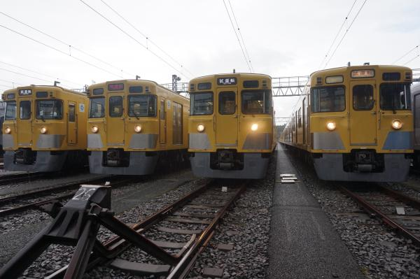 2016-08-20 西武2409F 2413F 2407F 2403F 3