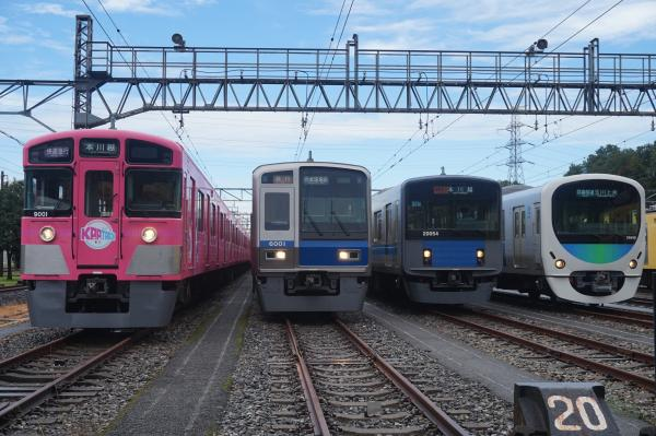 2016-08-20 西武9101F 6101F 20154F 38118F 1
