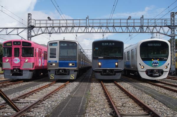 2016-08-20 西武9101F 6101F 20154F 38118F 2