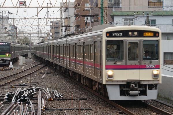 2016-08-27 京王7423F 準特急新宿行き