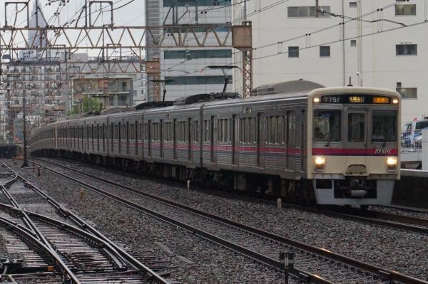 2016-08-27 京王7701F 準特急高尾山口行き