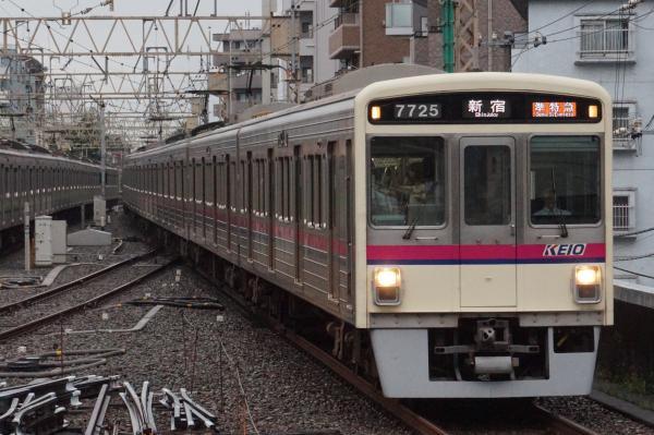 2016-08-27 京王7725F 準特急新宿行き