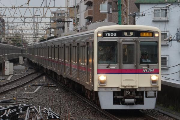 2016-08-27 京王7806F 準特急新宿行き