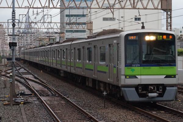2016-08-27 都営10-370F 区間急行橋本行き