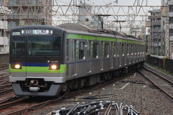 2016-08-27 都営10-490F 区間急行本八幡行き