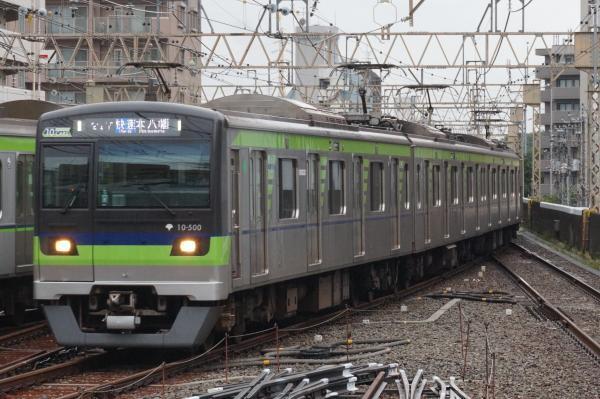 2016-08-27 都営10-500F 快速本八幡行き