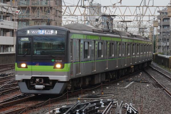 2016-08-27 都営10-540F 快速本八幡行き