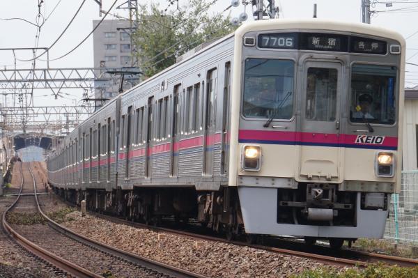 2016-09-03 京王7706F 各停新宿行き