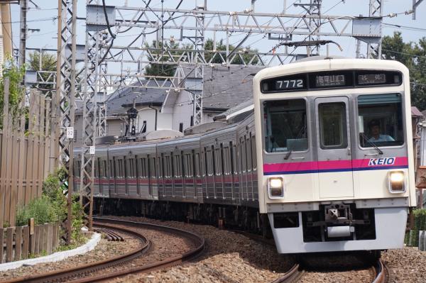 2016-09-03 京王7722F 各停高尾山口行き