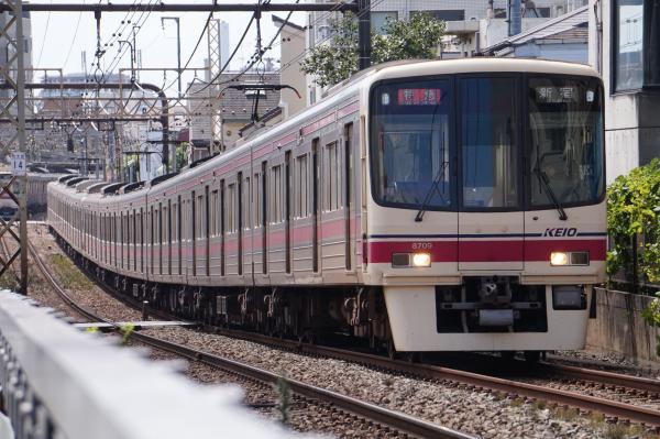2016-09-03 京王8709F 特急新宿行き
