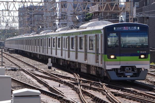 2016-09-03 都営10-610F 急行本八幡行き
