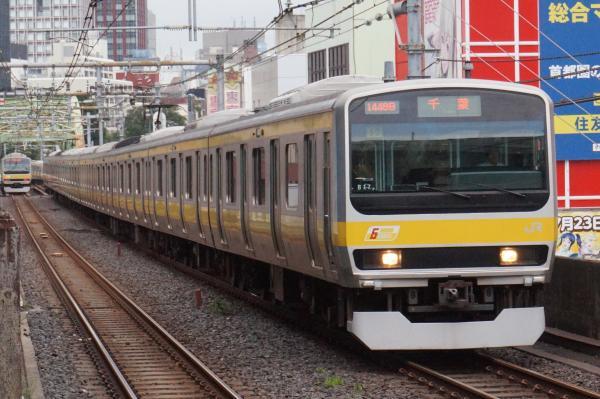 2016-09-21 総武線E231系ミツB17編成 千葉行き