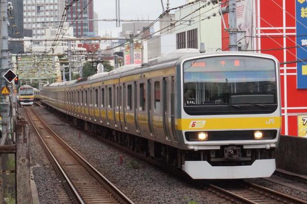 2016-09-21 総武線E231系ミツB19編成 千葉行き