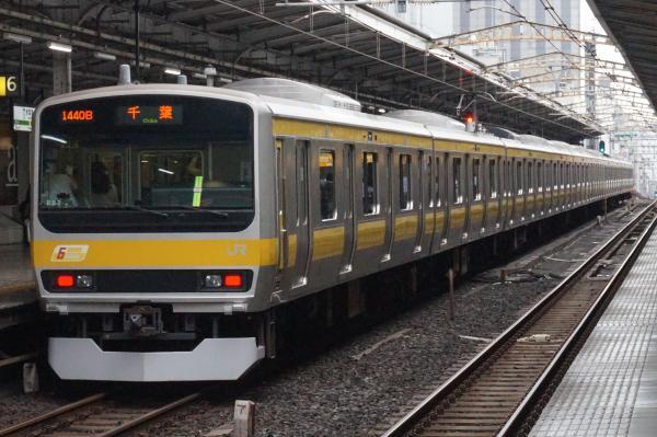 2016-09-21 総武線E231系ミツB82編成 千葉行き2