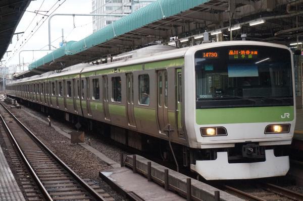 2016-09-21 山手線E231系トウ506編成 品川・渋谷方面行き
