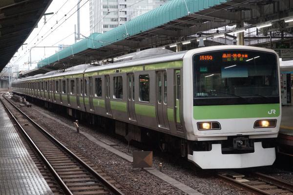 2016-09-21 山手線E231系トウ512編成 品川・渋谷方面行き
