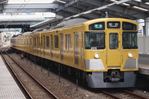 2016-09-25 西武2075F 準急所沢行き 4305レ