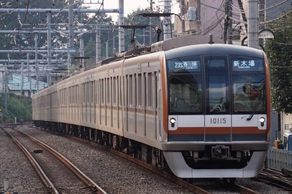 2016-09-26 メトロ10115F 各停新木場行き 6532レ
