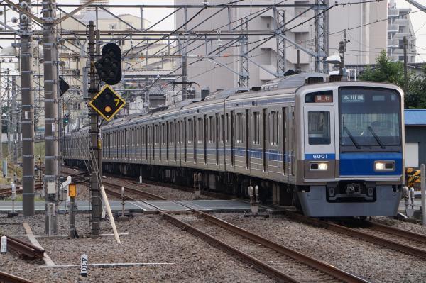 2016-09-26 西武6101F 急行本川越行き 2657レ