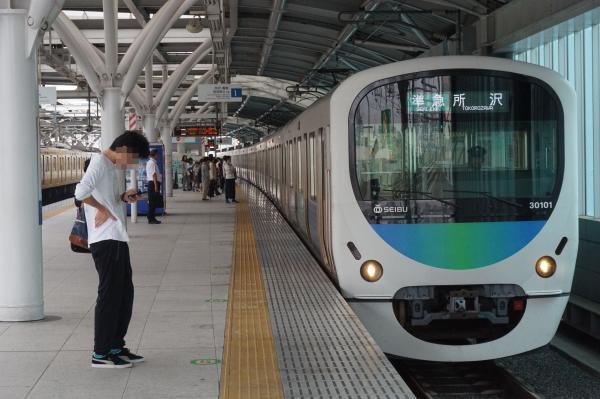 2016-09-26 西武30101F 準急所沢行き 4303レ