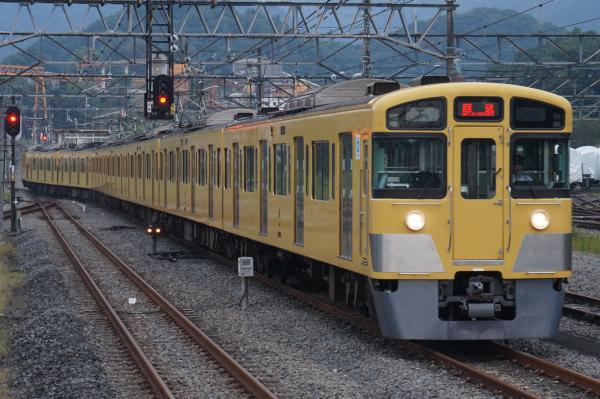 2016-09-27 西武2097F 廃車回送1