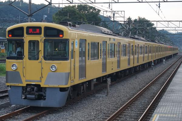 2016-09-27 西武2097F 廃車回送2