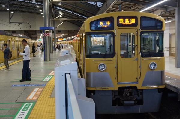 2016-09-21 西武2097F 各停豊島園行き1