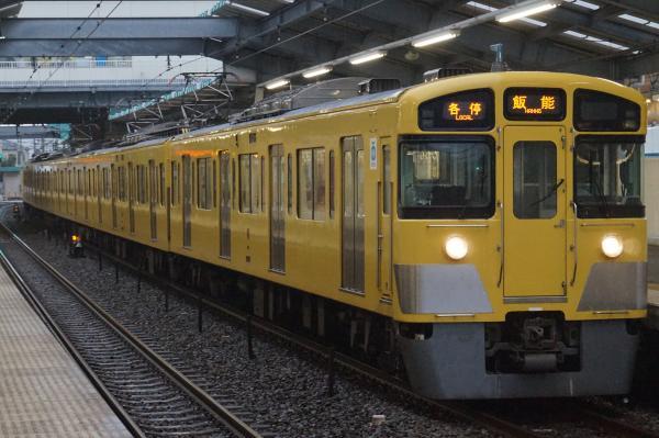 2016-09-24 西武2097F 各停飯能行き 5121レ