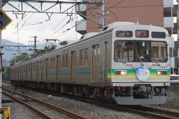 2016-09-27 秩父鉄道7507F 各停羽生行き