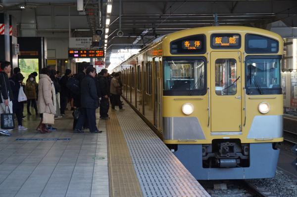 2016-01-09 西武2097F 各停飯能行き1 5119レ