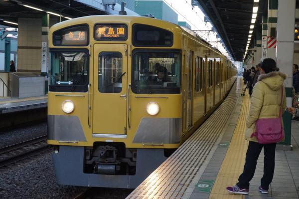 2016-01-10 西武2097F 各停豊島園行き1 5489レ