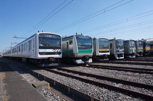 2016-10-15 Mue-train ハエ119 ハエ63 Z2 ハエ28 ヤマY12 クモヤ143 2