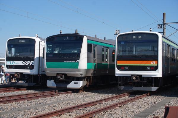 2016-10-15 Mue-train ハエ119編成 ハエ63編成