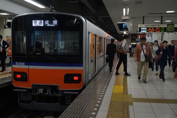 2016-10-15 東武51095F 普通成増行き