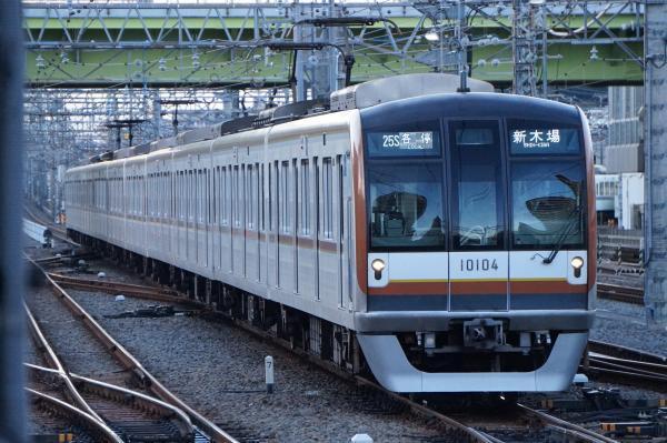 2016-11-03 メトロ10104F 各停新木場行き 6536レ
