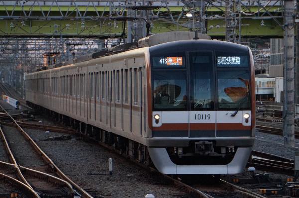 2016-11-03 メトロ10119F 急行元町・中華街行き 1814レ