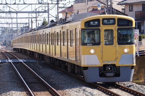 2016-11-03 西武2071F 各停所沢行き 5111レ