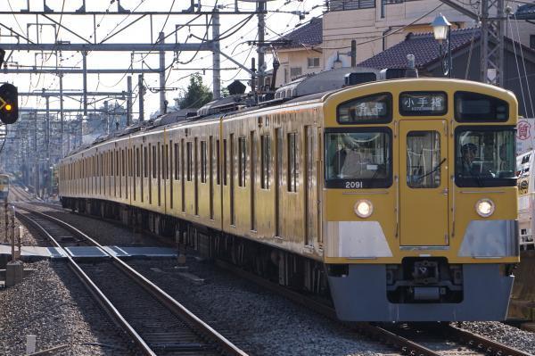 2016-11-03 西武2091F 各停小手指行き 5107レ