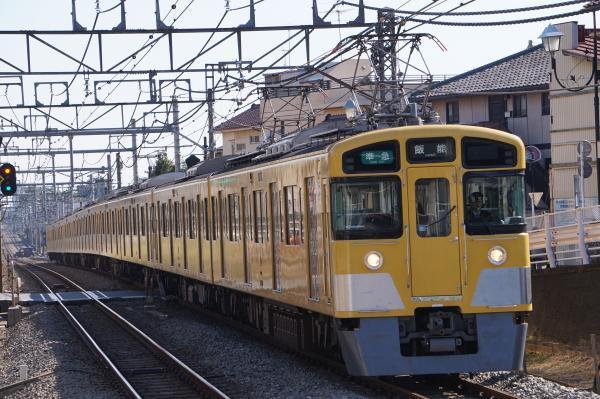 2016-11-03 西武2463F_2069F 準急飯能行き 4355レ