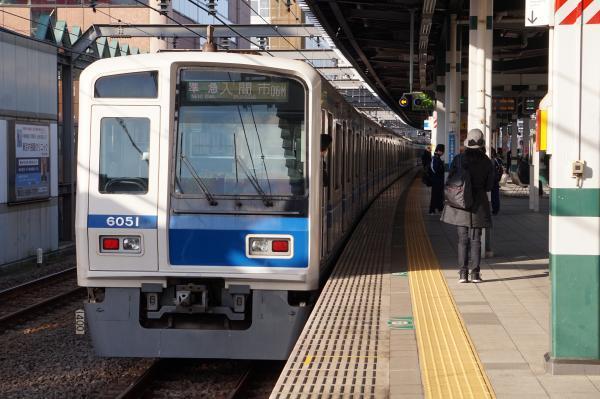 2016-11-03 西武6151F 準急入間市行き 4853レ